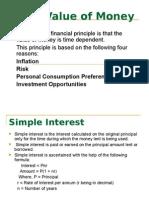 time value of money formula