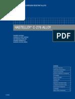 Hastelloy c 276