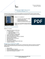 Advanced VSAT 1.5.1 Product Bulletin