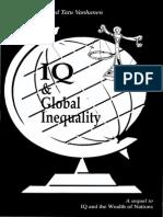 Richard Lynn Tatu Vanhanen IQ and Global Inequality