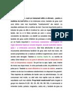 Taratele de Grau & Plus Indicii Externe Pt Lipse de Substante