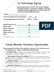 Tech Volunteerform
