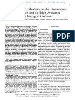 Experimental Evaluations on Ship Autonomous Navigation and Collision Avoidance by Intelligent Guidance