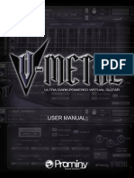 V METAL User Manual
