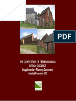 Conversion of Barns SPD