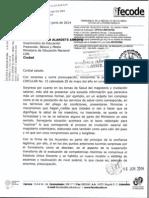 Viceministro Educación - Circular Acuerdos