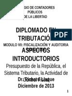 Modulo Vii Fiscalizacion de Auditoria Tributaria