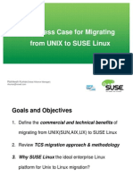 SUSE Linux for UNIX to Linux Transformation V1.0