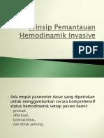 Prinsip Pemantauan Hemodinamik Invasive