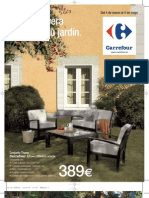 Folleto Carrefour Jardines