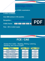 CAE-FCE Introduction 2012