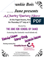 Charity Show July 17th