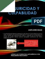 Antijuricidad y Culpabilidad Expo Derecho Penal