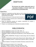 Estudios de Solidificacion 2014 MALN