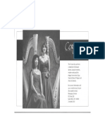 Coryton Harp Duo Post Card Black and White