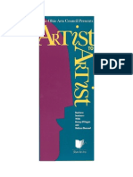 Artist to Artist Business Seminar Brochure