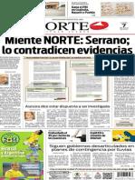 Periódico Norte edición del día 7 de julio de 2014
