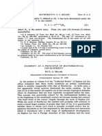 Miller G. a. - Harmony as a Principle of Mathematical Development (1928)(4s)