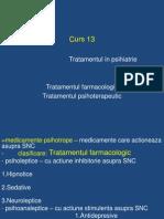Curs 13 -Farmacoterapie