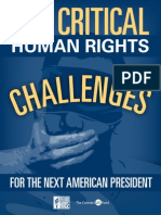 Ten Critical Human Rights Challenges for the Next American President