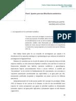 2012 - La Realidad en Freud. Apuntes Para Una Dilucidación Metateórica. Revista VERBA VOLANT