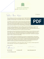 Letter to the Prime Minister on Waste4Fuel