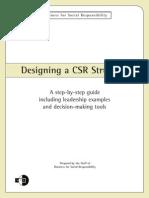Designing a CSR Structure (Fra BSR)