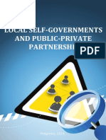 Local Self-governments and Public-private Partnership