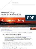 Internet of things 2014