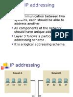 11 - IPaddresses & Subnetting
