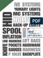 BtS-Halcyon Catalogue 2011