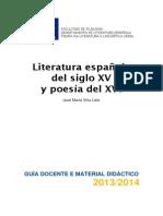 Literatura Espaola Do Sculo Xv e Poesa Do Xvi