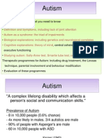 Autism (A Level Psychology)