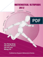 Singapore Mathematical Olympiads (2012)