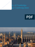 495 University of Cambridge Cambridge Cambridgeshire