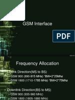GSM Interface