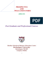 Dec Pg Professional Prospectus Applicsaation Form 2014 15