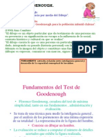 Test de Goodenough 1