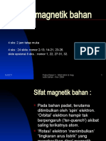 14)) Sifat Magnetik Bahan