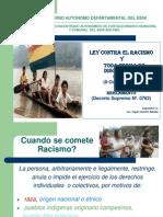LEY CONTRA EL RACISMO .ppt