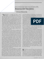 The Demons of the Jews by Leon Wieseltier