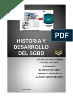 Historia Modelos BD