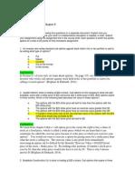 FIN 534 Homework Chp 8