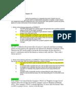 FIN 534 Homework Chapter 10