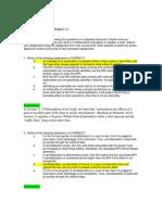 FIN 534 Homework Chapter 11