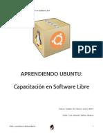 Portada Capacitacion en Software Libre