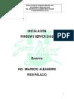 1. Manual de Instalación Windows Server 2008