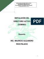 2. Manual de Instalación Del Directorio Activo
