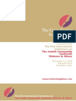 Confronting Abuse 2014 Brochure