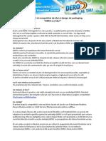 Brieful Oficial Al Competitiei de Idei Si Design de Packaging DERO e Al Tau